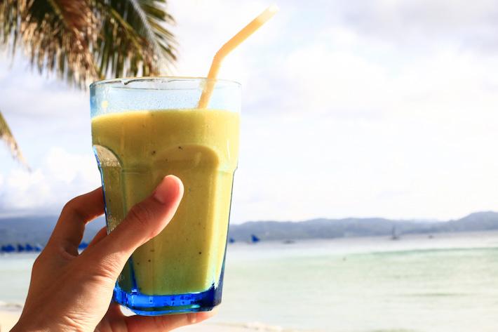 Boracay Island Girl Gone Fruit Shake
