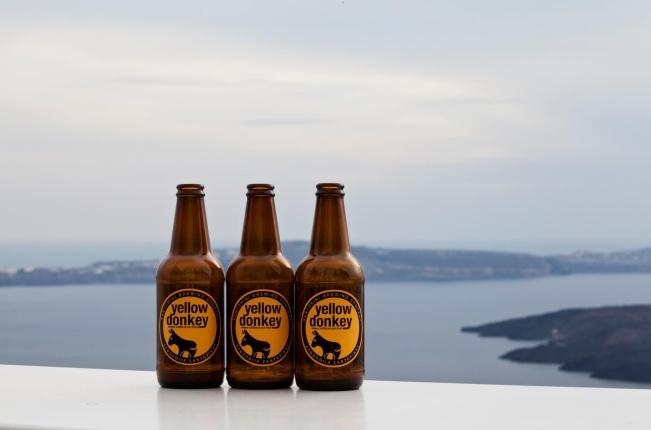 Donkey Beer Santorini