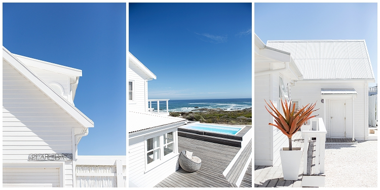 View of pool and ocean in Yzerfontein Cape Town