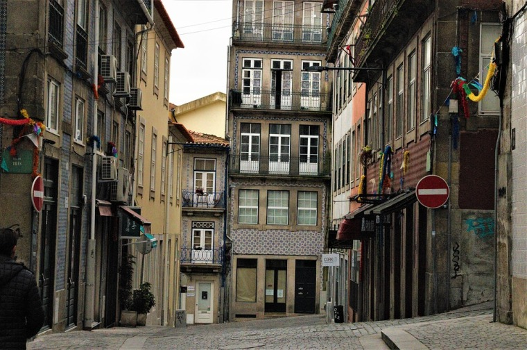 Old Town in Porto Portugal