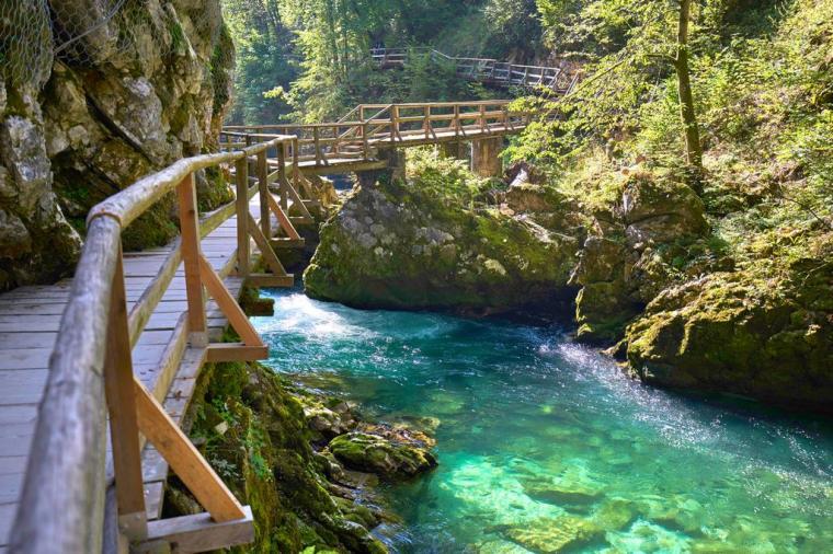 Hiking trail Lake Bled