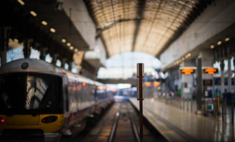 Train Station in London