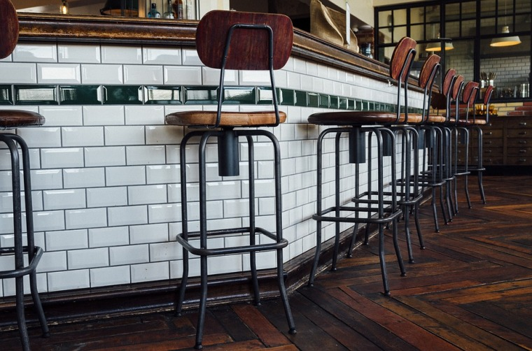Chairs in a cafe