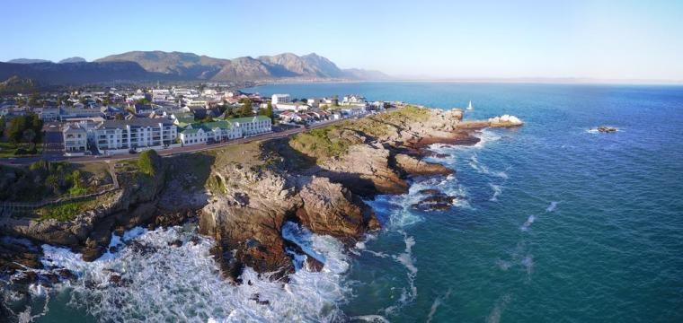 View of Hermanus Cape Town South Africa