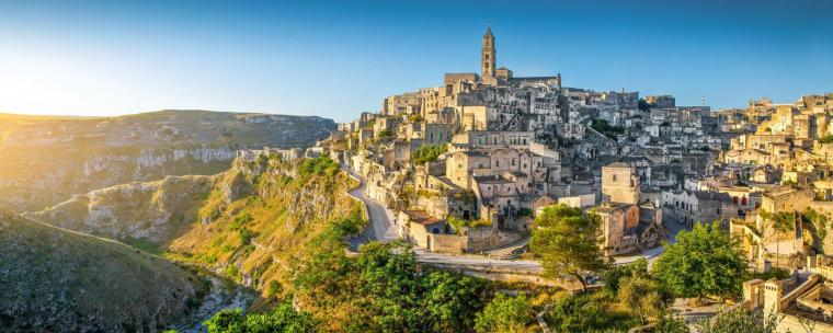 Basilicata view in Southern Italy