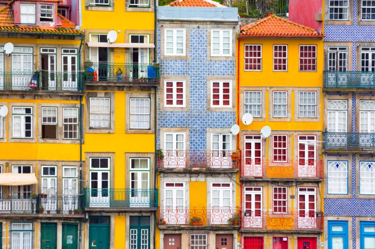 Colorful Architecture Porto